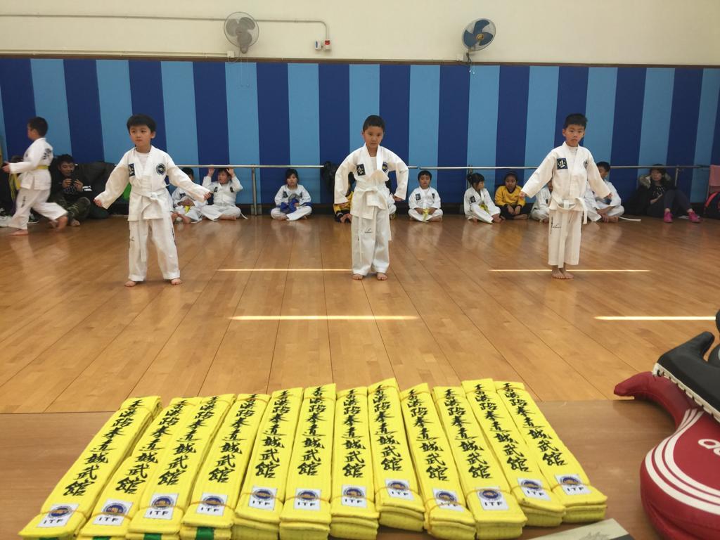 跆拳道統一考試